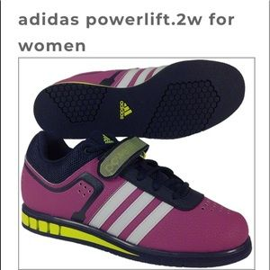 Adidas weightlifting Powerlift shoes 10 purple